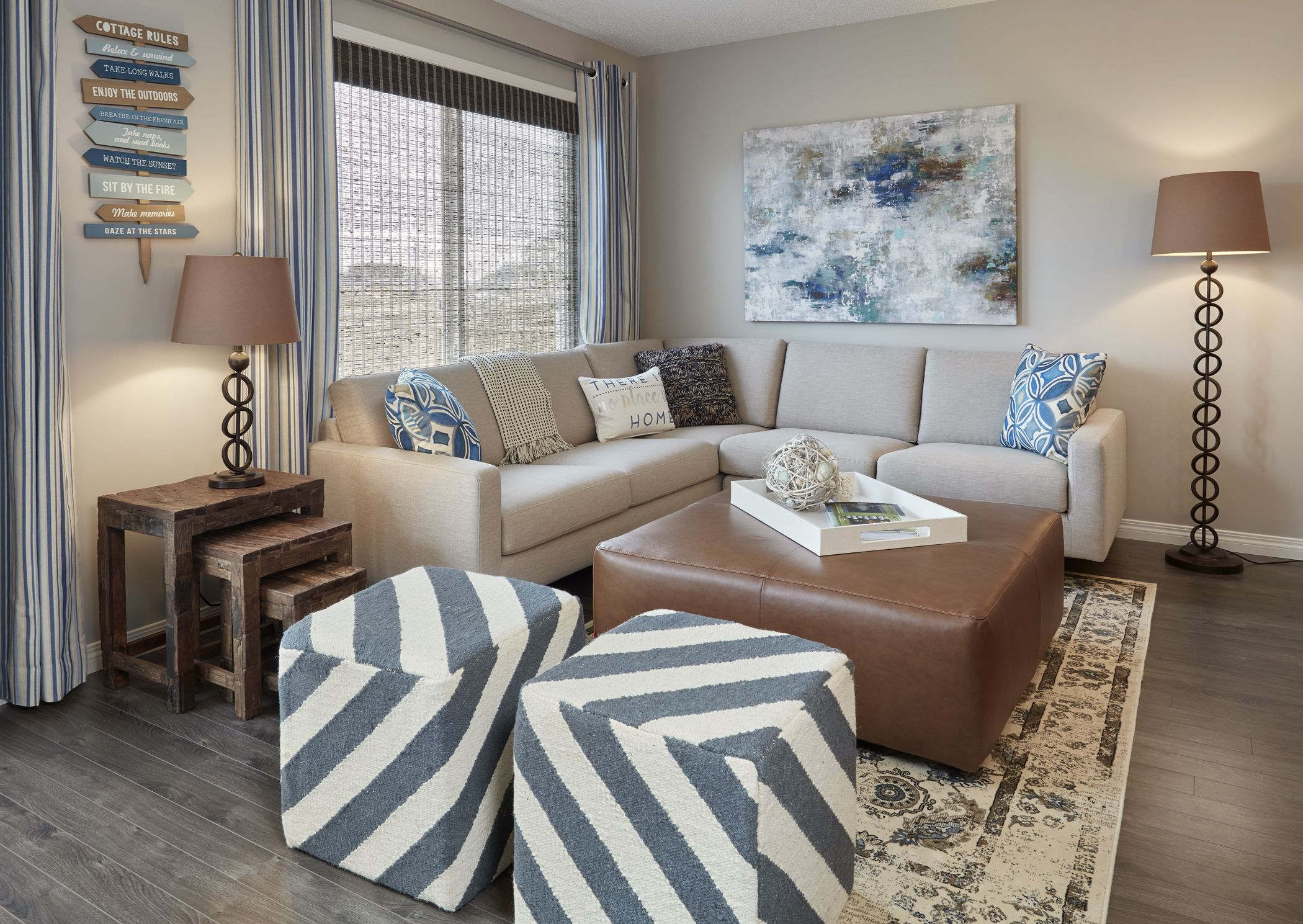 This Hamptons inspired Cadenza show home in Lake