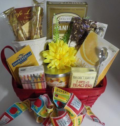 teacher appreciation kind magnolia gift basket ideas pinterest