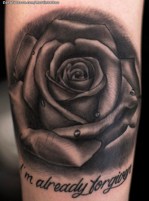 Tatuaje de rosas flores tatuajes grey tattoo and tattoo for Tattoo de flores