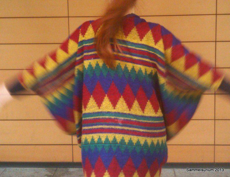 Jacke aus Stola.  upcycling, nähen, Jacke, Handmade Kultur