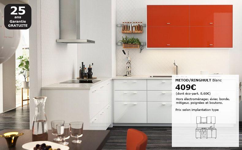 Cuisine Equipee Pas Cher Moderne Sur Mesure Et Design Ikea Meuble Cuisine Pas Cher Ikea Meuble Cuisine