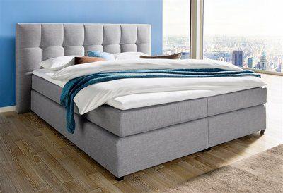 boxspringbett breckle in 2019 interieur boxspringbett. Black Bedroom Furniture Sets. Home Design Ideas