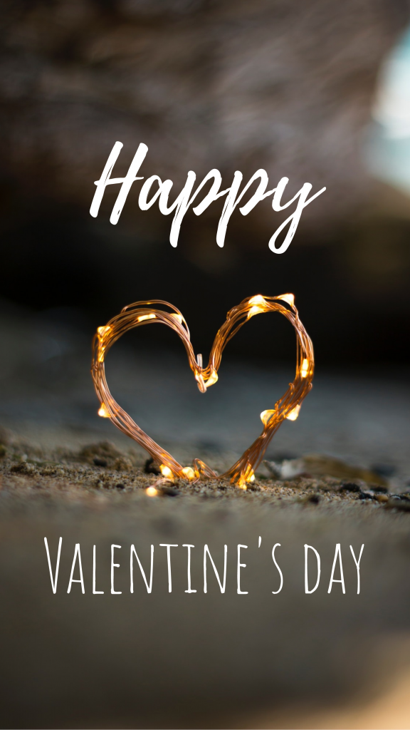 Happy Valentines day Instagram Story Template Happy