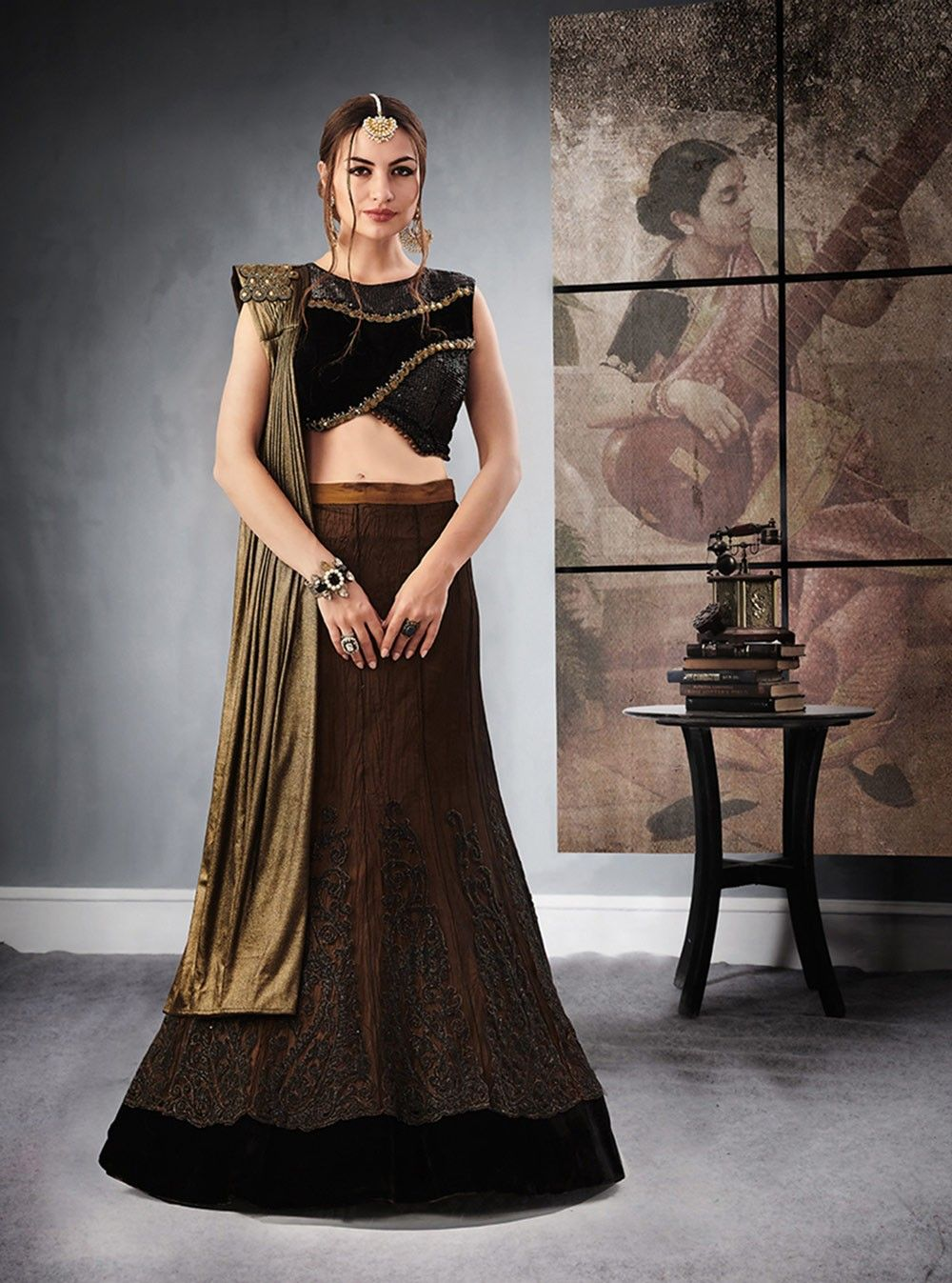4f097a9db8932c Top 20 Asian Latest Party Wear Lehenga Designs 2018-2019 For Teenagers