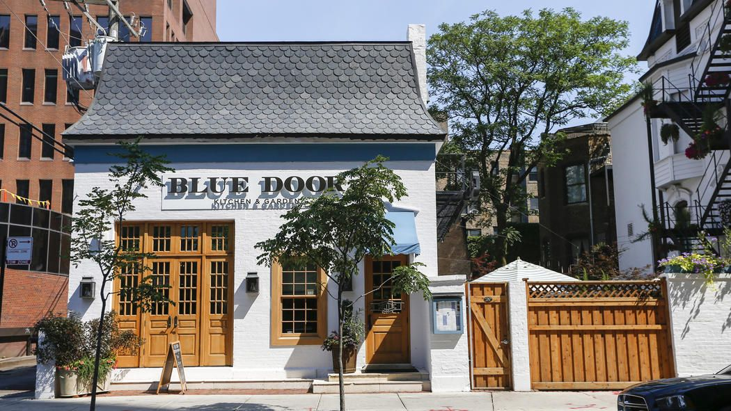 43++ Blue door kitchen chicago info