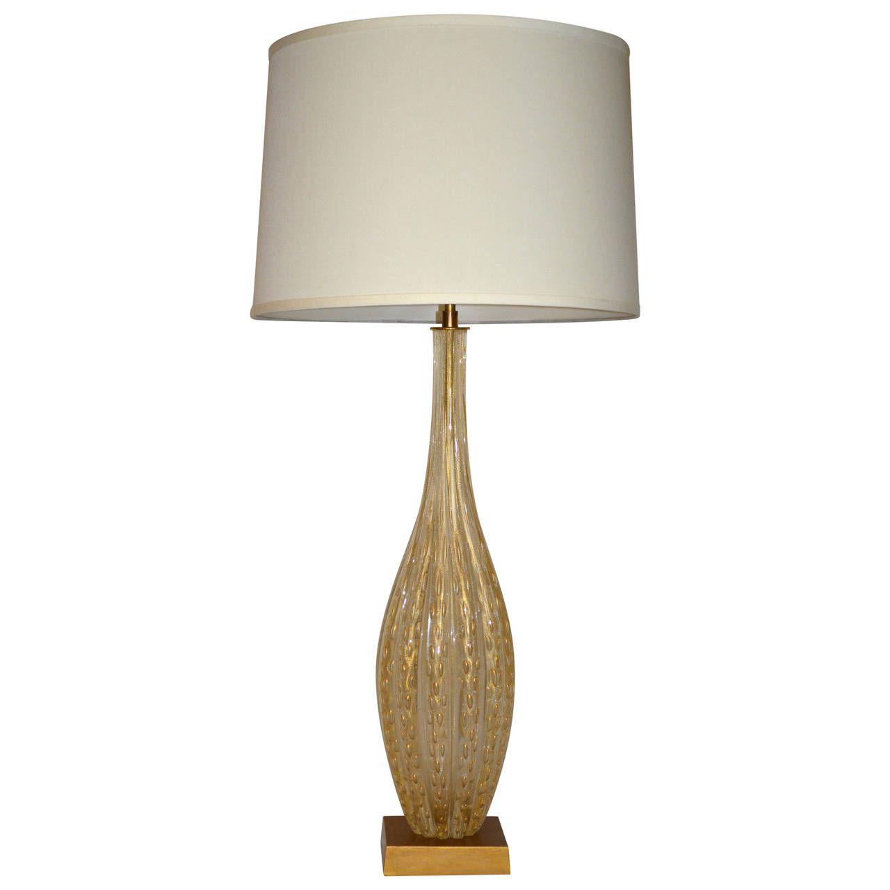 mid century barovier e toso fluted murano lamp murano glass and rh pinterest com