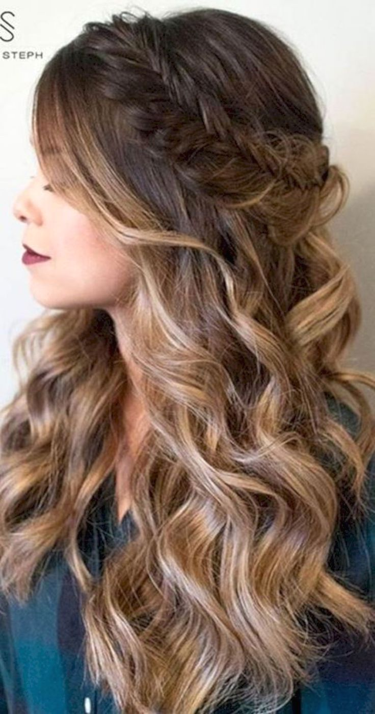 Hairstyles For Long Hair For Prom Prom Hairstyles For Long Hair Down Prom Hairstyles Long Hair Do Long Hair Styles Hair Styles Prom Hairstyles For Long Hair