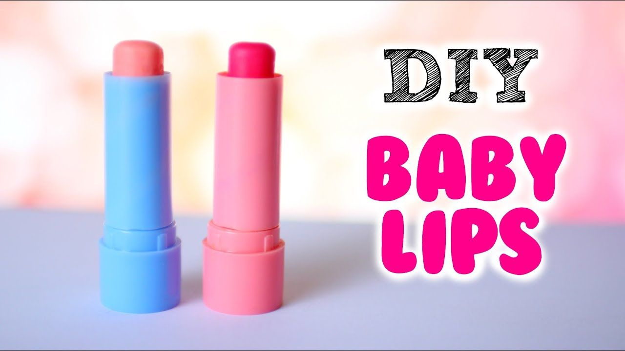 DIY Baby Lips Out Of Starbursts!   Make Tinted Lip Balm out