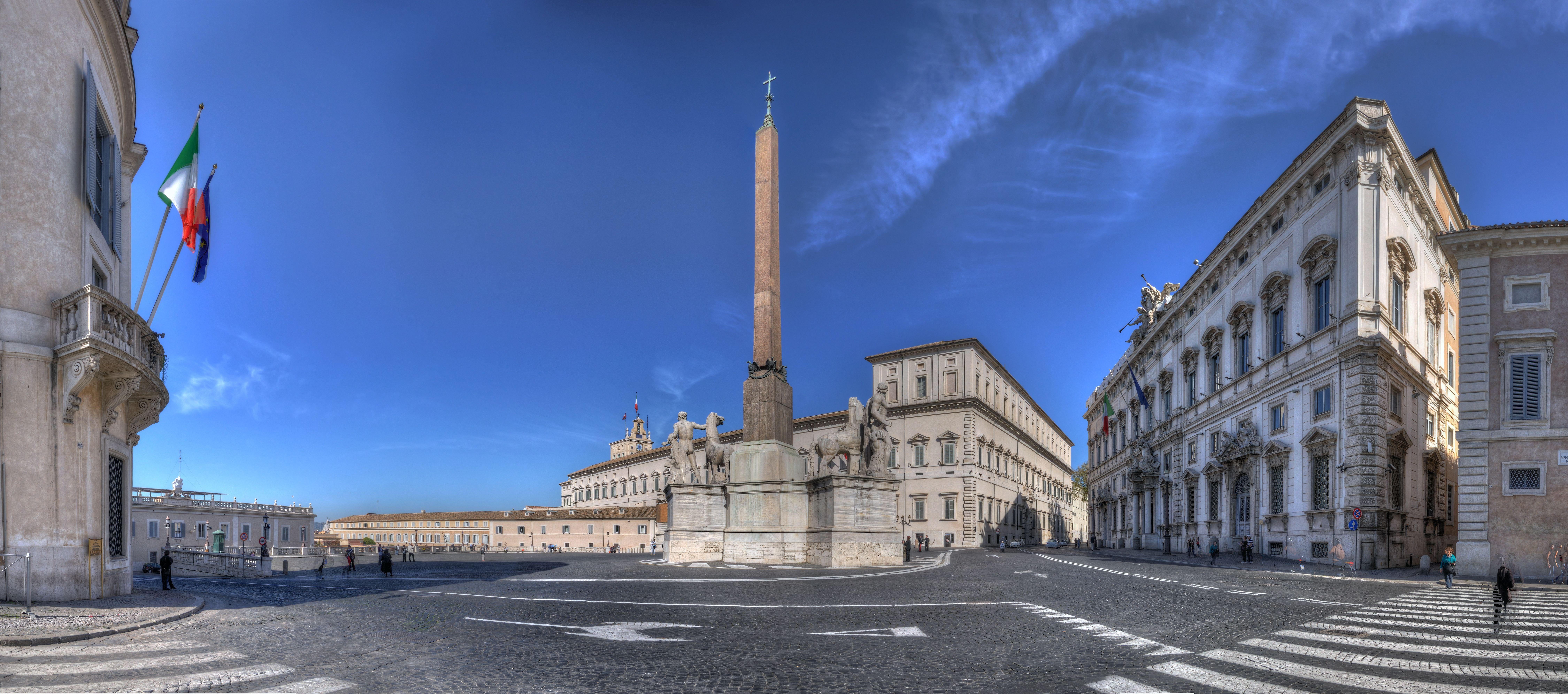 Piazza del Quirinale, Rome, Italy