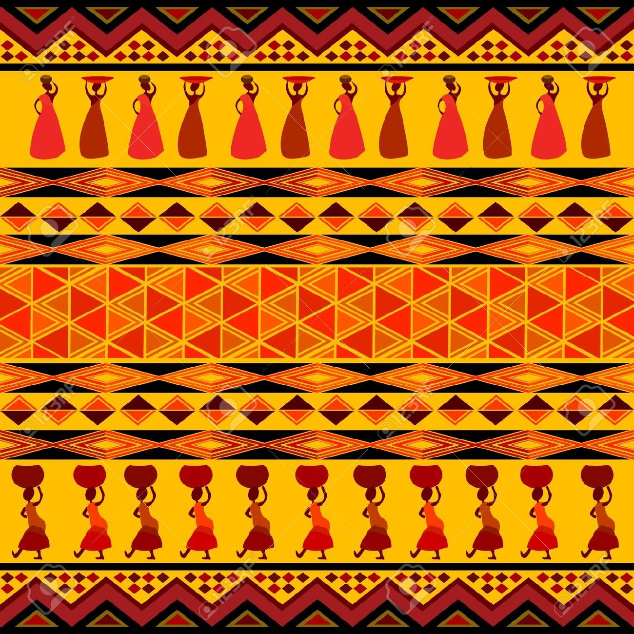 7165370-Traditional-african-pattern-Stock-Photo-africa.jpg ... Traditional African Patterns