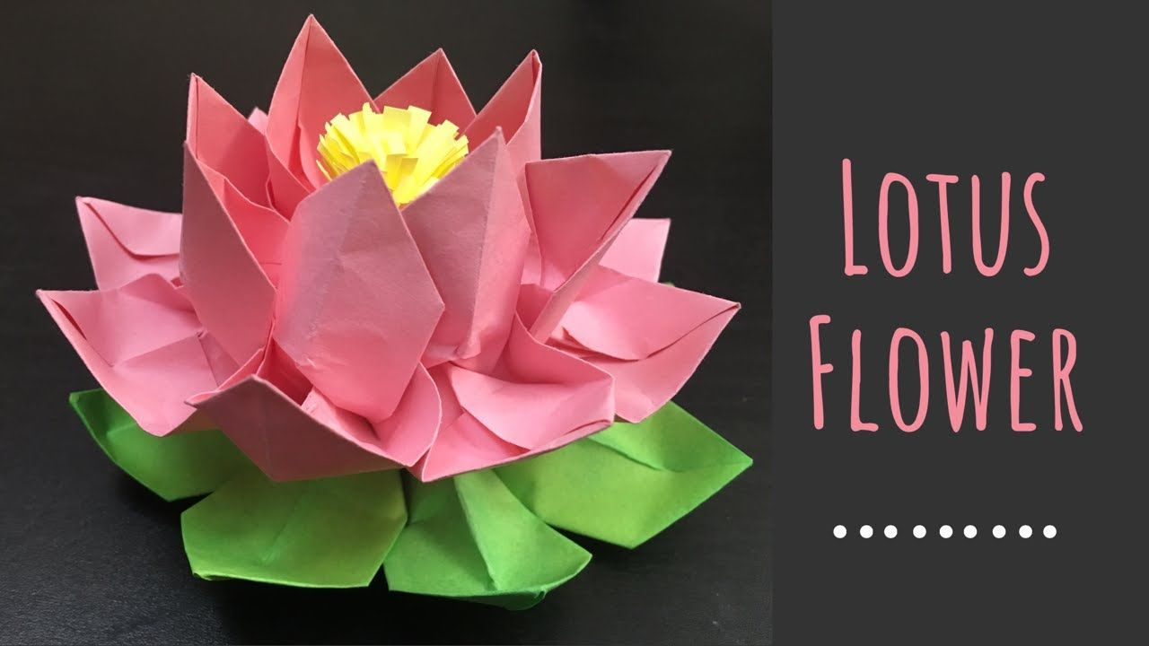 DIY Paper Crafts: How to Make an Easy Origami Paper Lotus : 9 ... | 720x1280