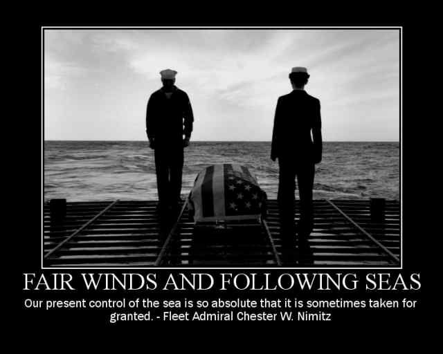 Fair Winds and Following Seas