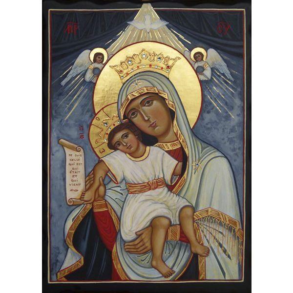 """Résultat de recherche d'images pour """"Icône de Marie des Anges"""""""