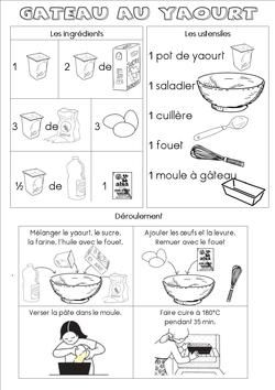 Recette gateau yaourt dose pot