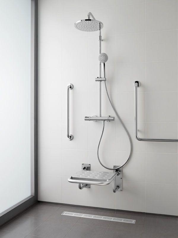 Duchas Roca.Asiento Para Ducha Access Roca Handicap Bathroom
