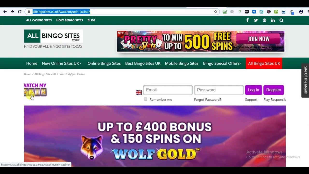 Watchmyspin Casino 100 Deposit Bonus Best New Casino Site Uk