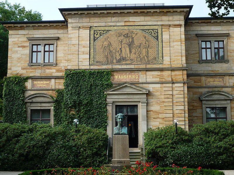 ayreuth RichardWagnerStraße 48 Haus Wahnfried, jetzt