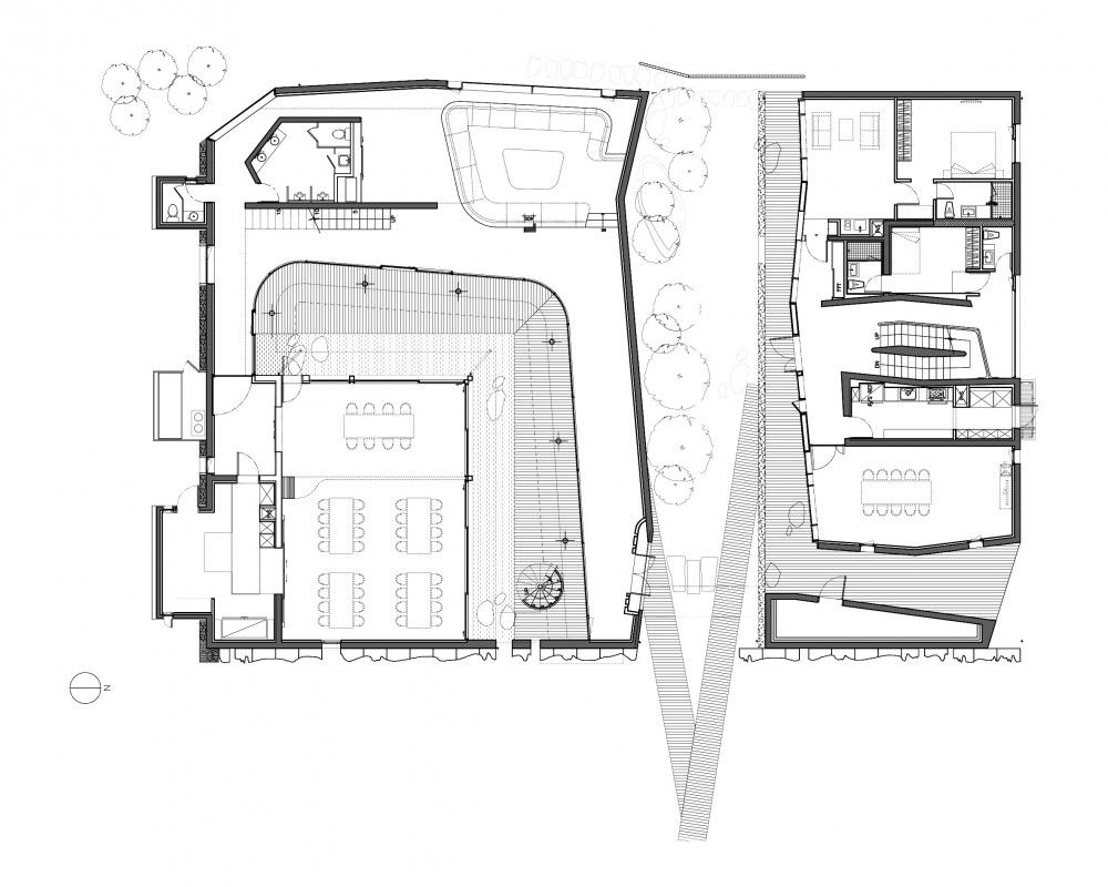 guest house plans modern house floor plans guest houses and floors on pinterest small iny house