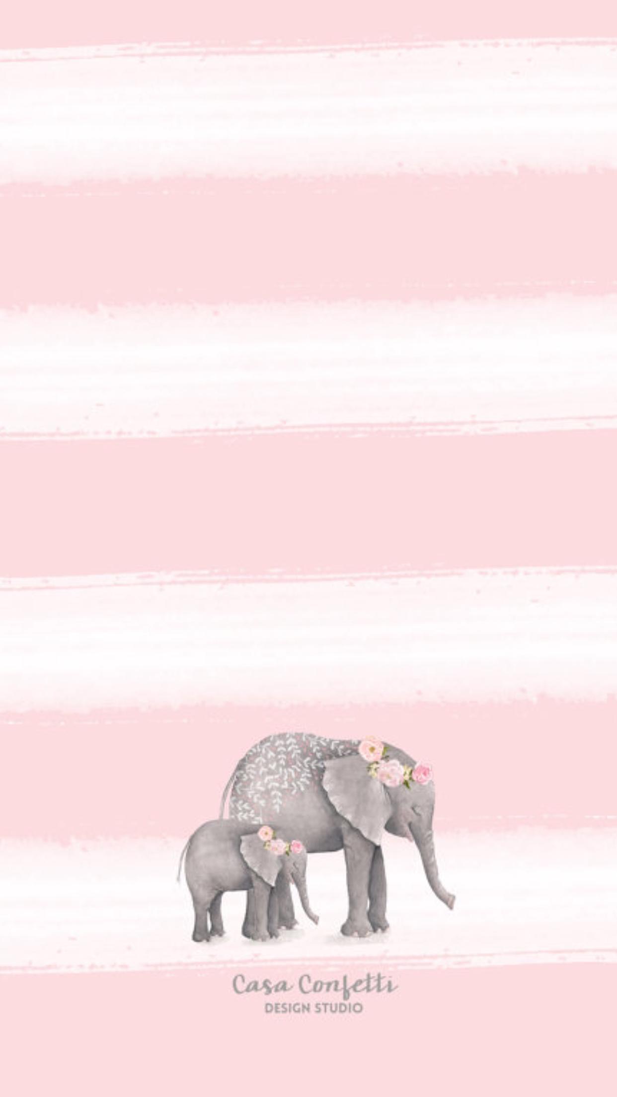 Baby Elephant Background : elephant, background, Carolina, Wallpapers, Vol.43, Elephant, Wallpaper,, Background,, Elephants, Shower