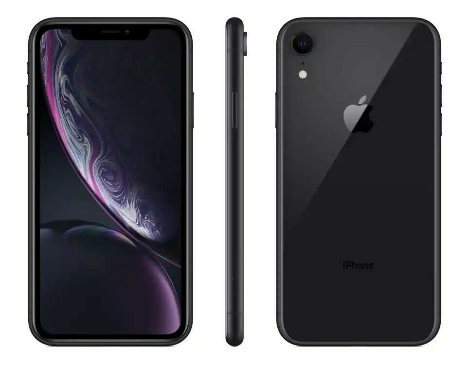 Mint Unlocked Apple Iphone Xr 64gb 6 1 Smartphone Black Applecare