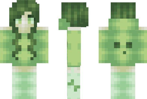 Slime Girl Minecraft Skin Mc Girl Skins Pinterest - Minecraft schone holzhauser