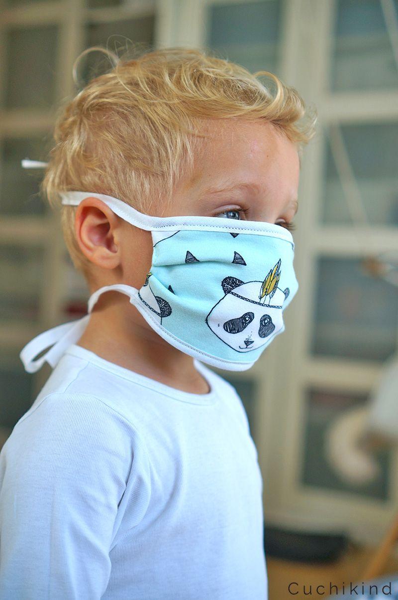 Mundschutz für Kinder nähen - Corona - Cuchikind