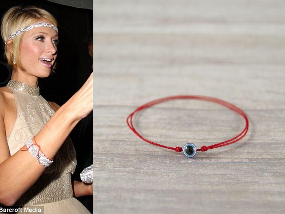 Blue Evil Eye Red String Kabbalah Bracelet Good Luck Mati Nazar Protection Handmade Friendship