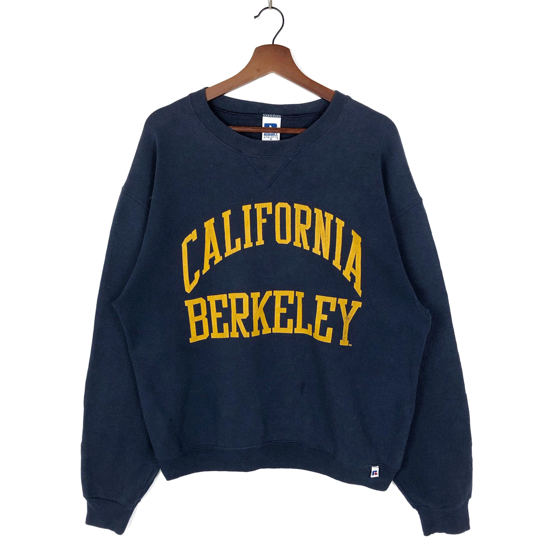 Vintage 90s California Berkeley Crewneck Sweatshirt Big Logo Etsy Boho Fashion Hippie Hippie Style Crew Neck Sweatshirt [ 3000 x 3000 Pixel ]