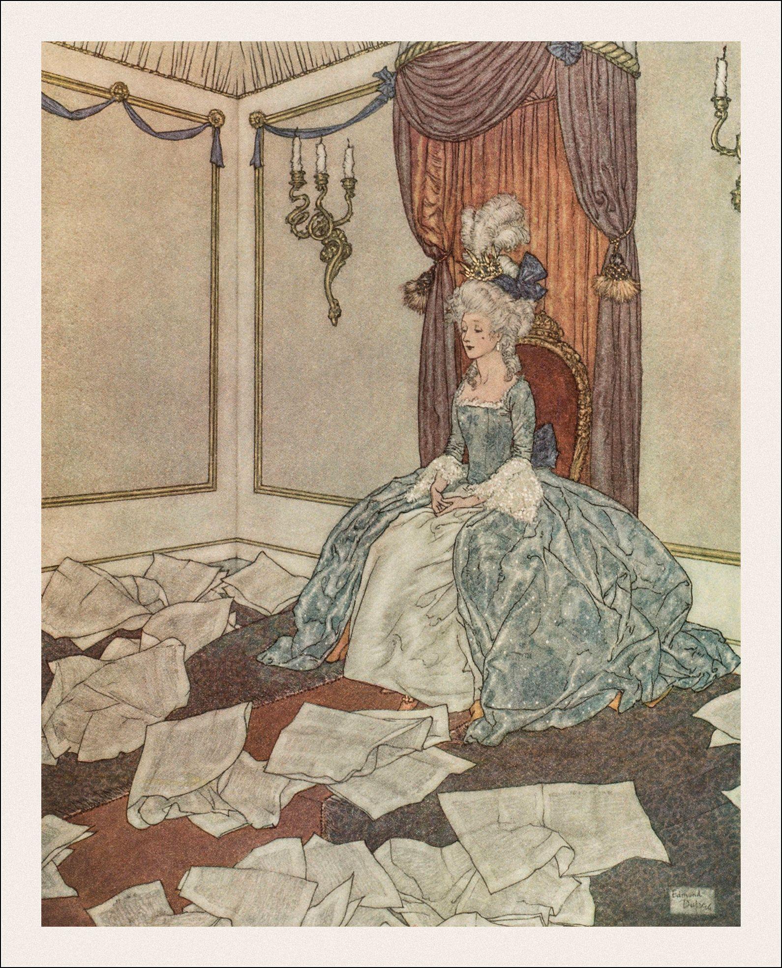 Hans Christian Andersen. La reine des neiges et quelques autres contes. H. Piazza, Paris, 1911. Illustrés par Edmond Dulac.
