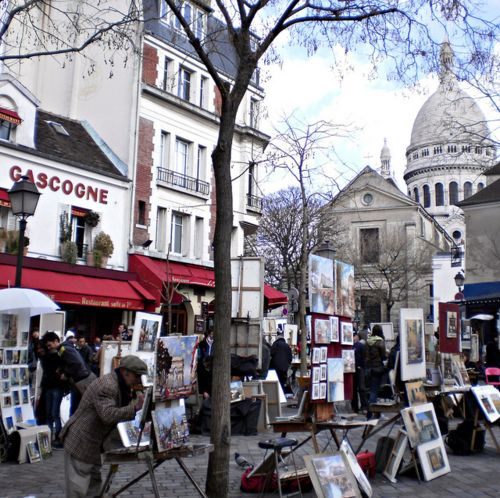 Montmartre District, Place Du Tertre, Paris XVIII