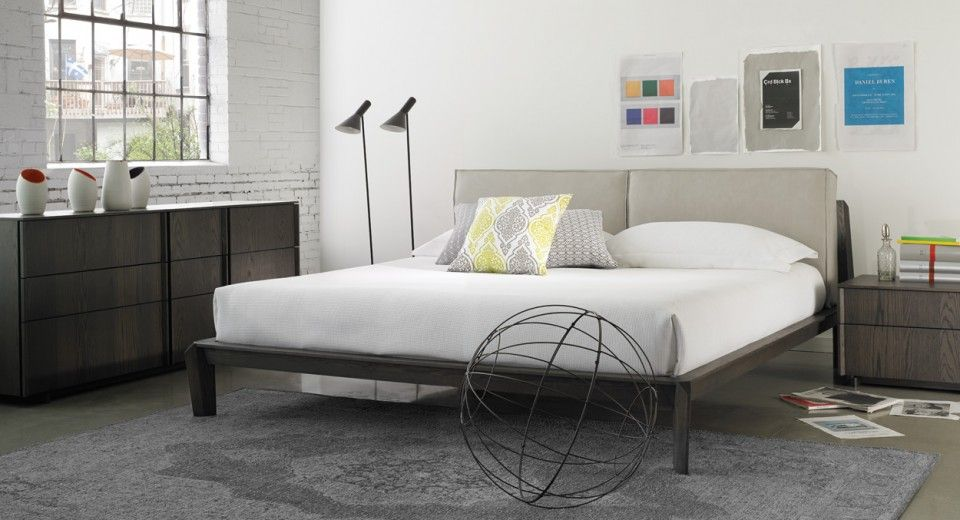 Lit Hudson Bed MadeInQuebec furniture design bedroom