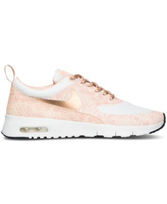 super popular 6c98e a1fb4 Nike Girls  Air Max Thea Print Running Sneakers from Finish Line - Finish  Line Athletic Shoes - Kids   Baby - Macy s