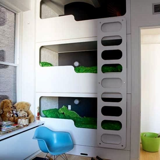 Interiors} Top 10 coolest kids bunk beds Holtie Pinterest - hochbett fur schlafzimmer kinderzimmer
