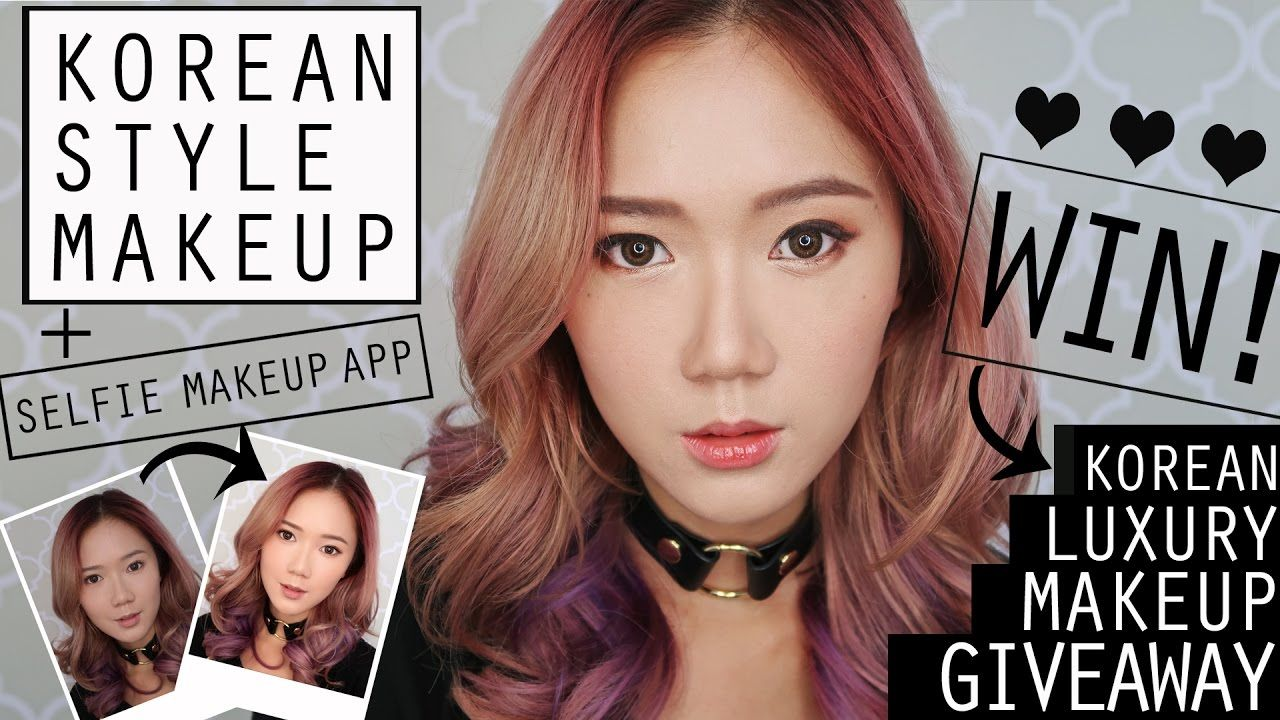 Korean Style Makeup Tutorial + KBeauty GIVEAWAY From