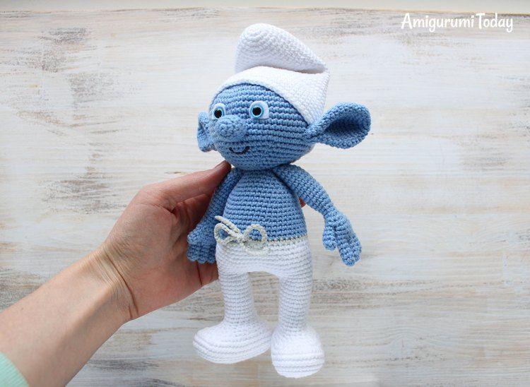 Crochet Smurf amigurumi pattern | Amigurumi | Pinterest | Free ...