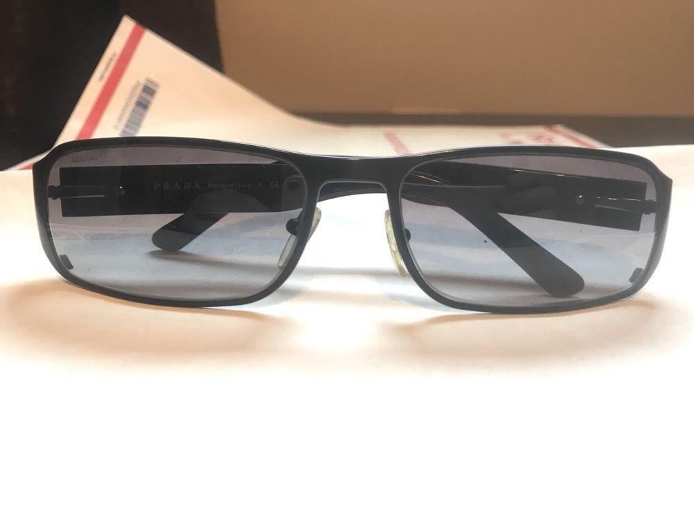 57b6e3cd84d PRADA Men s Designer Sunglasses Black SPR 61M 1BO-3M1.  fashion  clothing   shoes  accessories  mensaccessories  sunglassessunglassesaccessories (ebay  link)