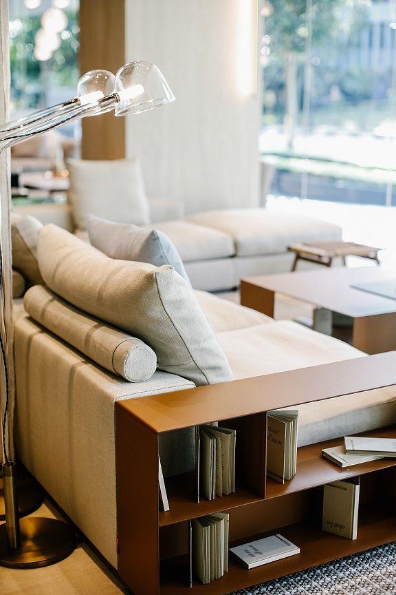 latest sofa designs for living room%0A  FLEXFORM GROUNDPIECE sectiona  sofa   design Antonio Citterio