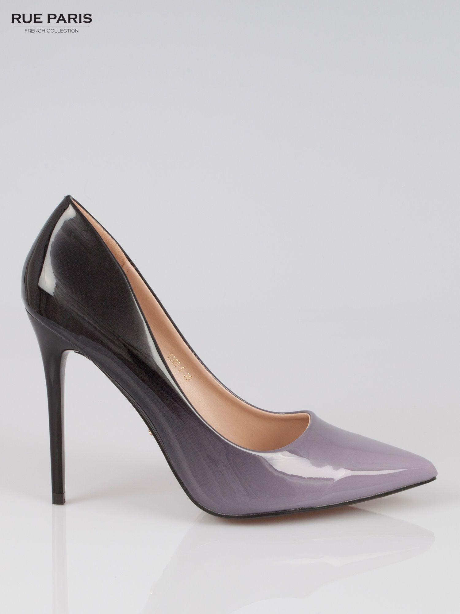 Szare Szpilki Ombe Heels Women Shoes Womens Heels