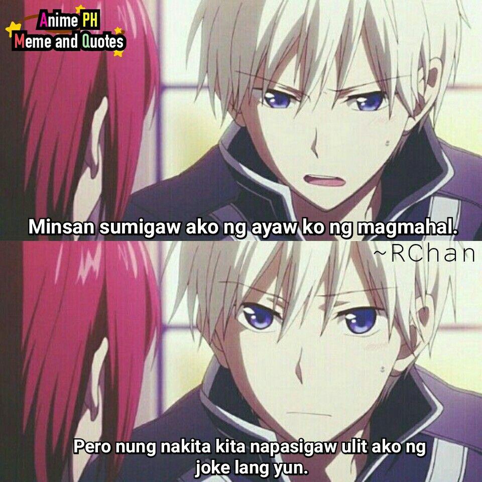 Joke lang😂 Anime PH Meme Quotes Tagalog quotes
