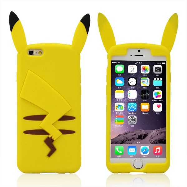 NEW! Pikachu case in silicone per i-Phone! Per info e per ...