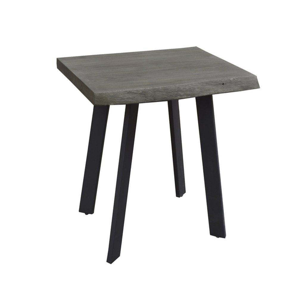 solid acacia live edge side table accent tables table acacia rh pinterest com