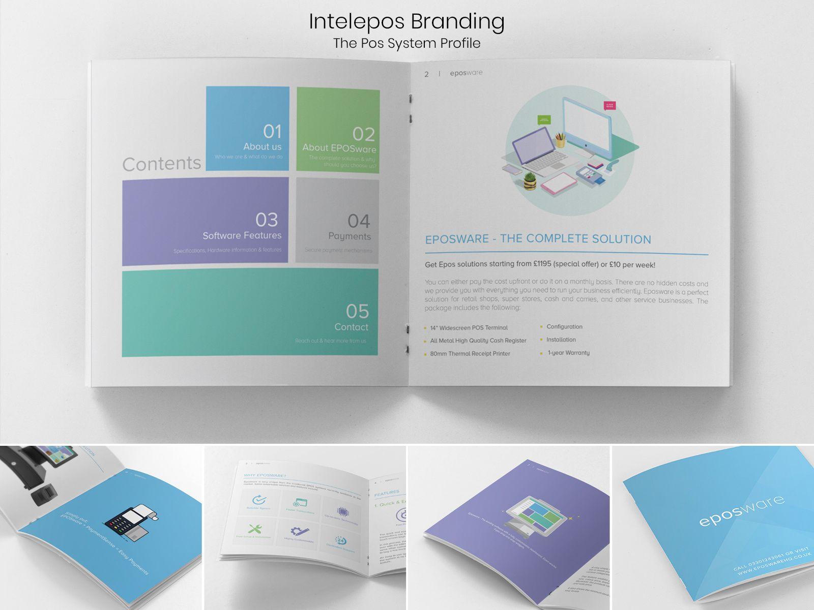 Company Profile Eposware Intelepos Company Profile Case Study Template Profile