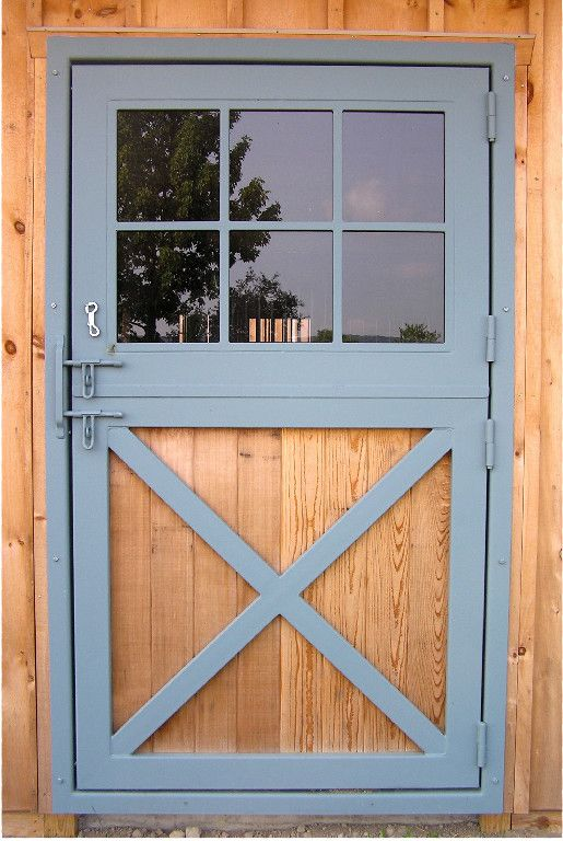 Love The Barn Style And Latches On These Dutch Doors Barn Door Hinges Garage Door Design Barn Doors Sliding
