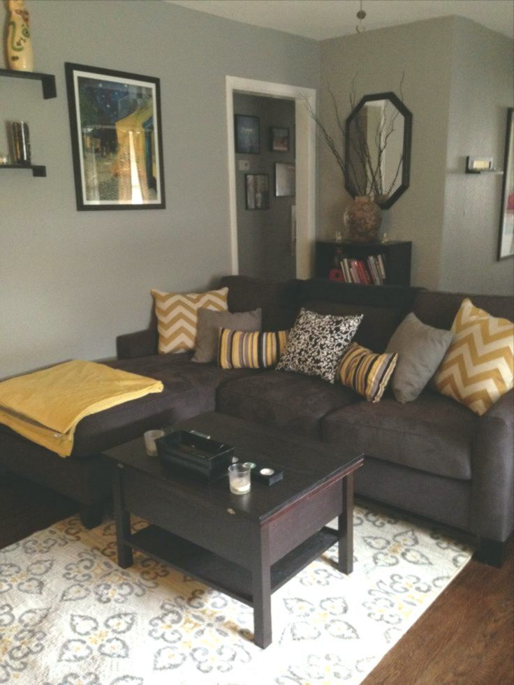 Dark Brown Couch Living Room, Brown Furniture Living Room Colors