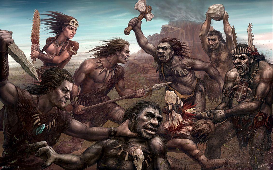 mesolithic_battle_by_lobzov-d5jl3p6.jpg (1131×707)