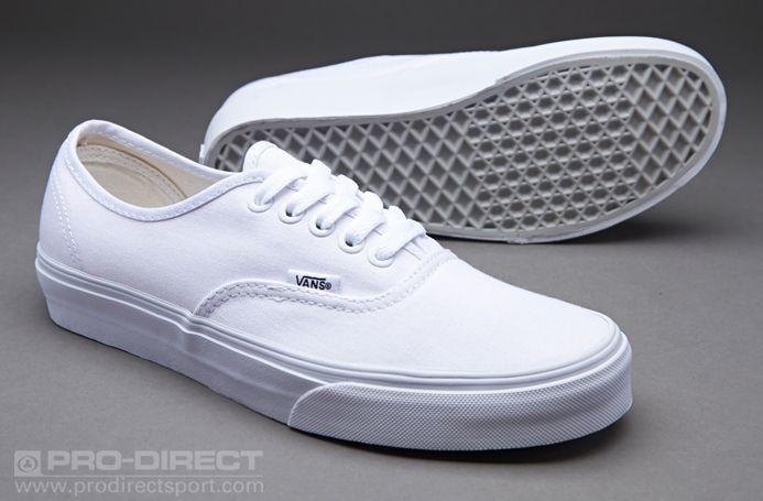 f814617962f Vans Authentic - True White