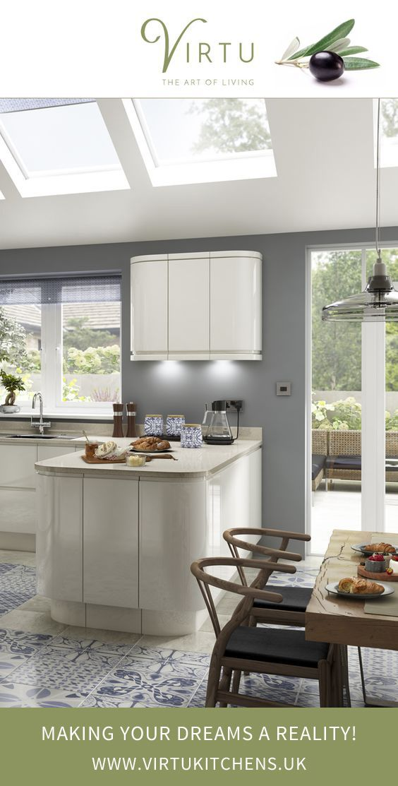 Create a streamlined kitchen using NEO Ivory