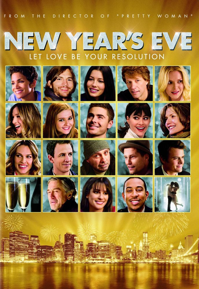 New Year S Eve Dvd 2011 In 2020 New Year Eve Movie New Years Eve Newyear