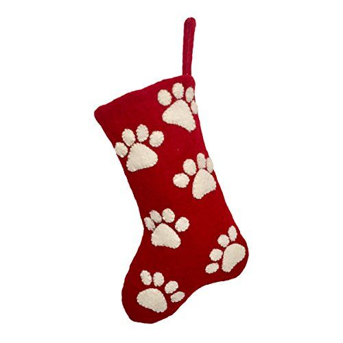 History Of Christmas Stockings.Amazon Price Tracking And History For Paw Print Dog Cat