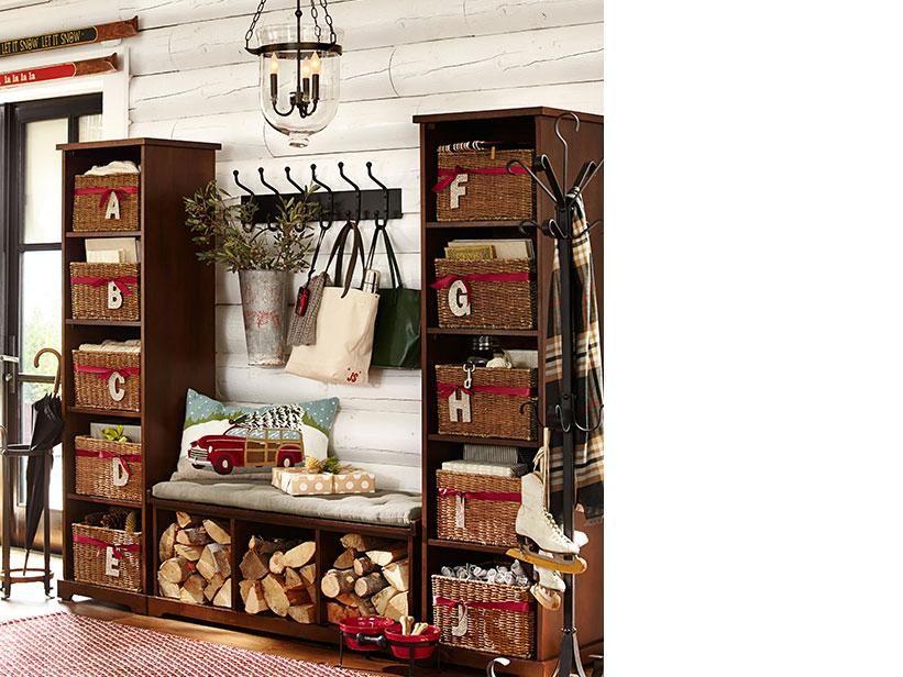 entryway d cor ideas entryway inspiration pottery barn laundry rh pinterest ca